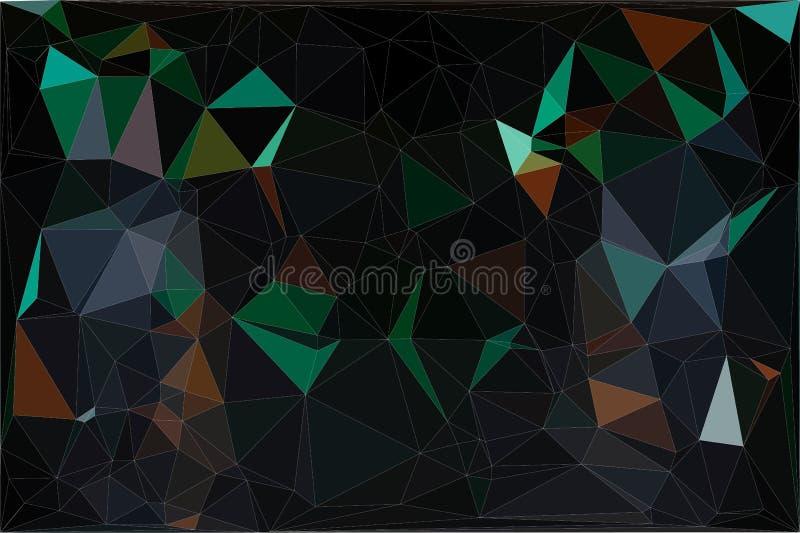 Lage polyachtergrond stock afbeeldingen