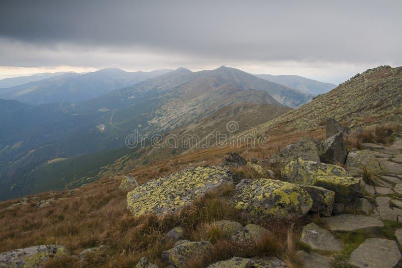 Lage Tatras, Slowakije royalty-vrije stock foto's