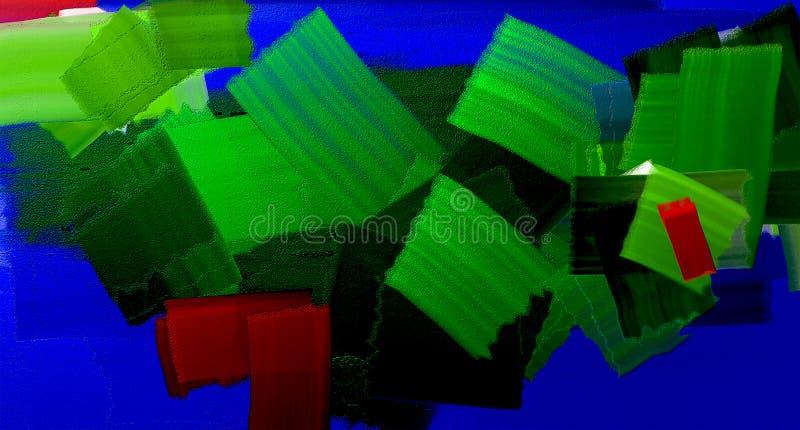 Lagen kleuren stock illustratie