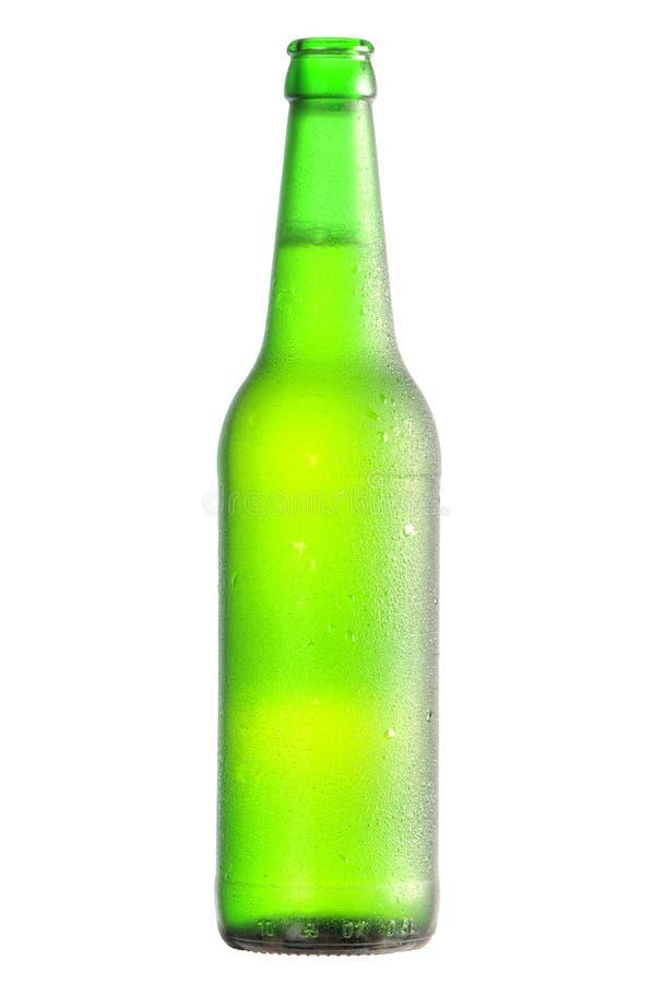 lager бутылки пива открытый стоковое изображение