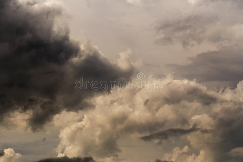 Lager av moln royaltyfri bild