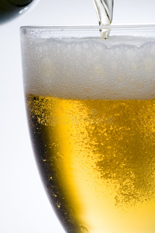 Lager beer royalty free stock image