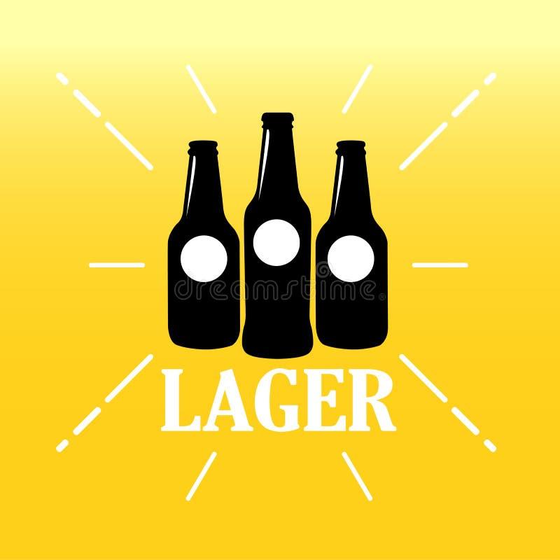 Lager Craft Beer illustration libre de droits