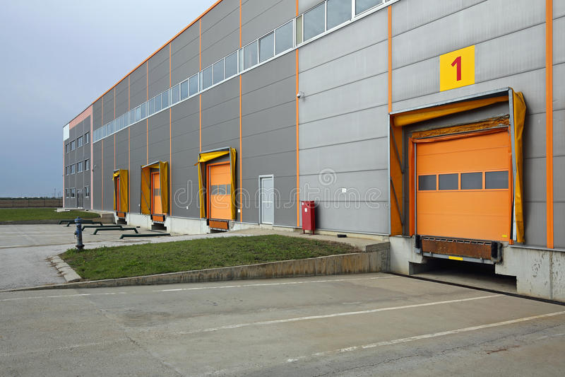 Lager-Dock lizenzfreies stockbild