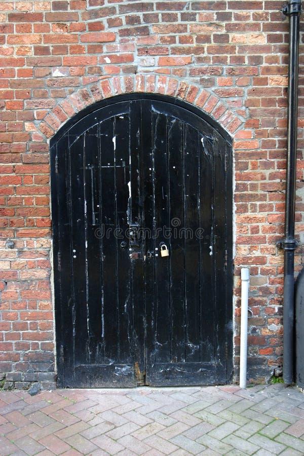 lager för dörr 18c royaltyfri bild