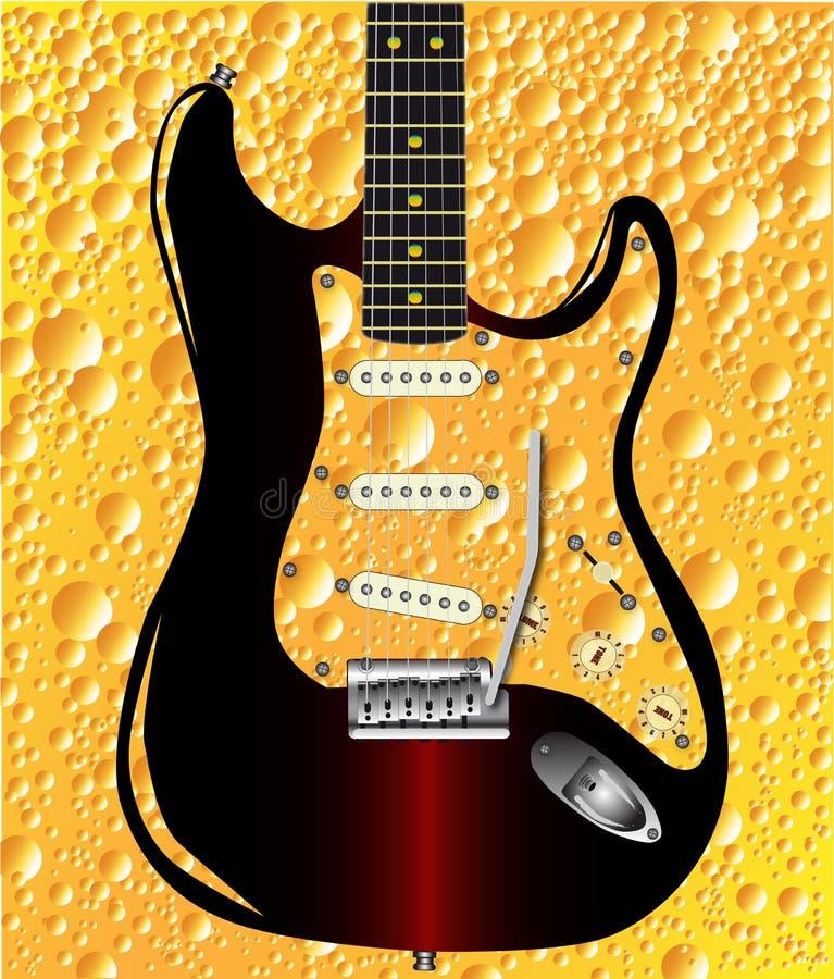 Lager Guitar illustration de vecteur