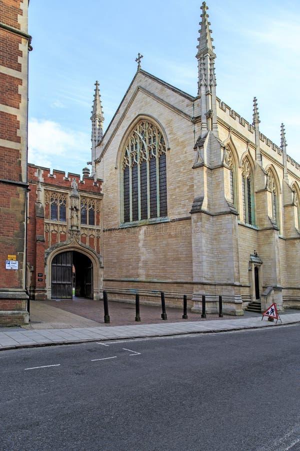 Lagere Kapel, Eton, het UK royalty-vrije stock afbeelding