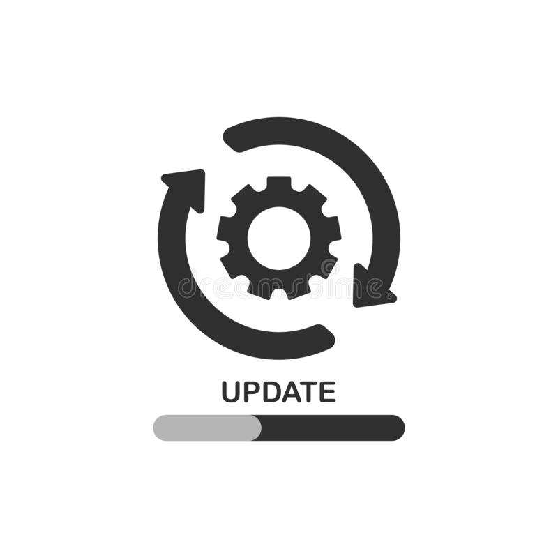Lagerföra för uppdateringlabe för vektorn ny design 17 royaltyfria foton
