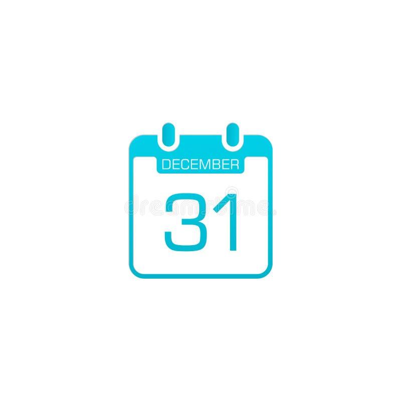 Lagerföra vektorkalendersymbol 5 royaltyfri illustrationer