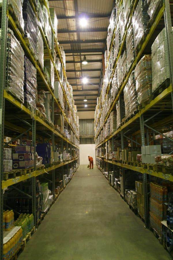 Lagerraum stockfotografie