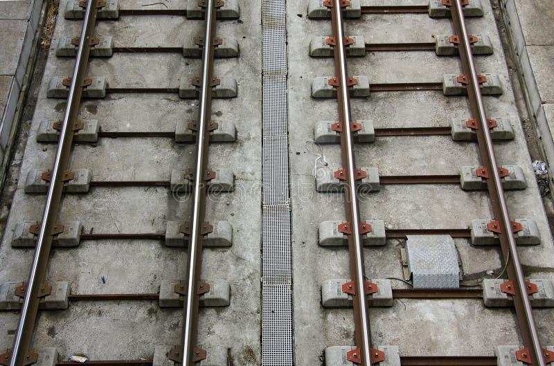 Download Lagerschwellen Und Metallspuren Des Förderwagens Stockbild - Bild von förderwagen, serie: 9085803