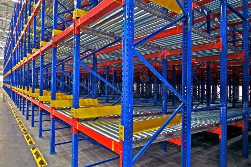 Lagerspeicher, rack Systeme stockbild