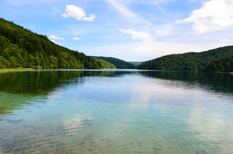 Laghi Plitvice nel Croatia fotografia stock