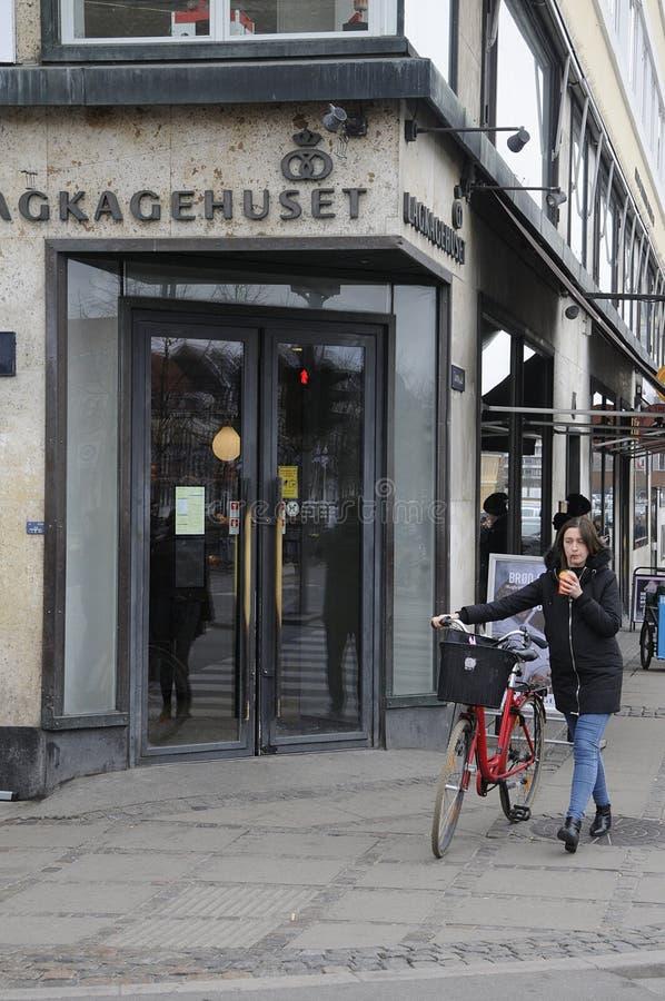 LAGKAHETHUSET DANISH CAKE HOUSE_BAKER. Copenhagen / Denamrk /27 March 2017 - Danish baker with name Lagekagehuset . Photo. Francis Dean/Deanpictures stock photos