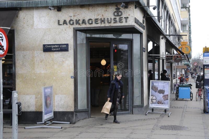 LAGKAHETHUSET DANISH CAKE HOUSE_BAKER. Copenhagen / Denamrk /27 March 2017 - Danish baker with name Lagekagehuset . Photo. Francis Dean/Deanpictures stock images