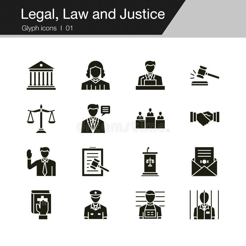 Lagliga, lag- och rättvisasymboler Skåradesign För presentation grafisk design, mobil applikation, rengöringsdukdesign, infograph royaltyfri illustrationer