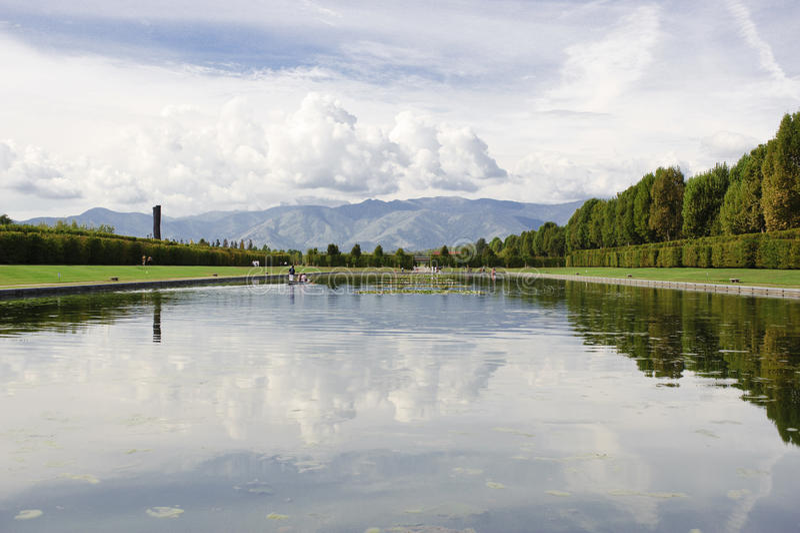 Download Lago foto de stock. Imagem de palácio, emanuele, real - 12807712