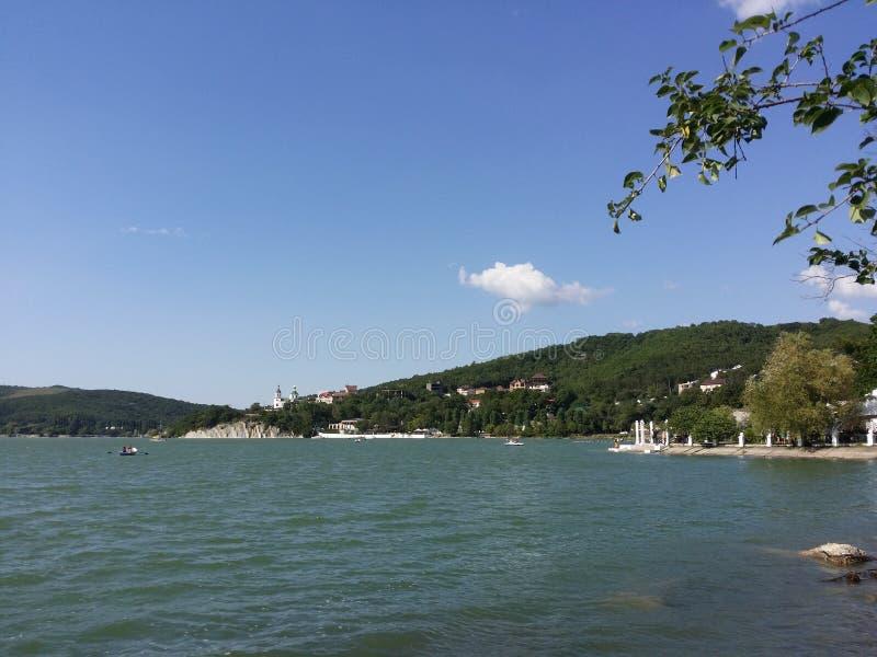 Lago Abrau foto de archivo libre de regalías