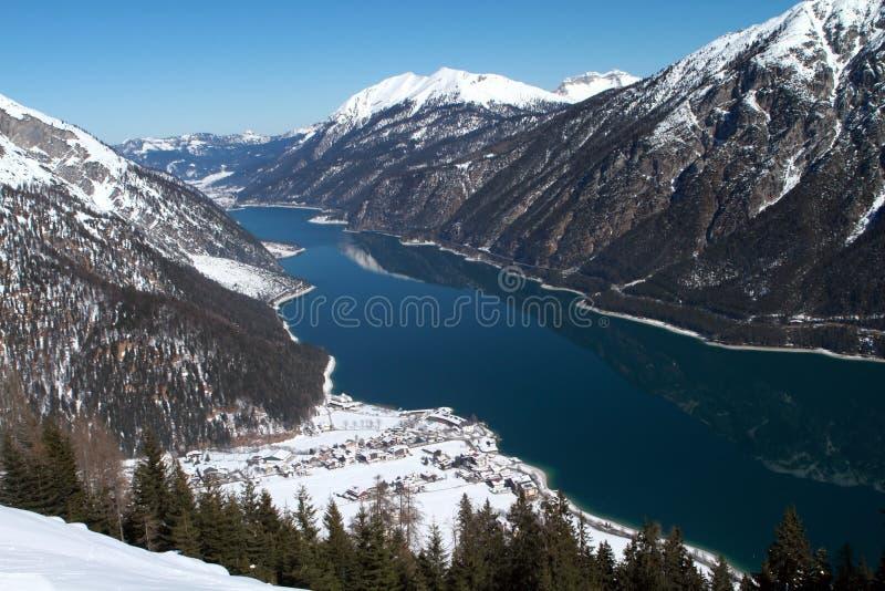 Lago Achensee em Áustria imagem de stock royalty free