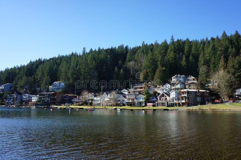 Lago ad ovest Cultus fotografia stock libera da diritti