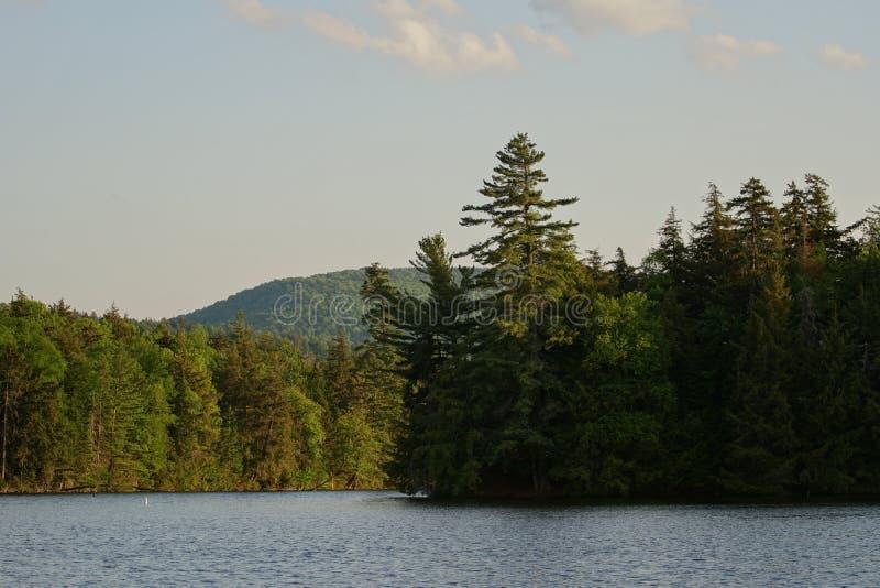 Lago Adirondack immagine stock libera da diritti