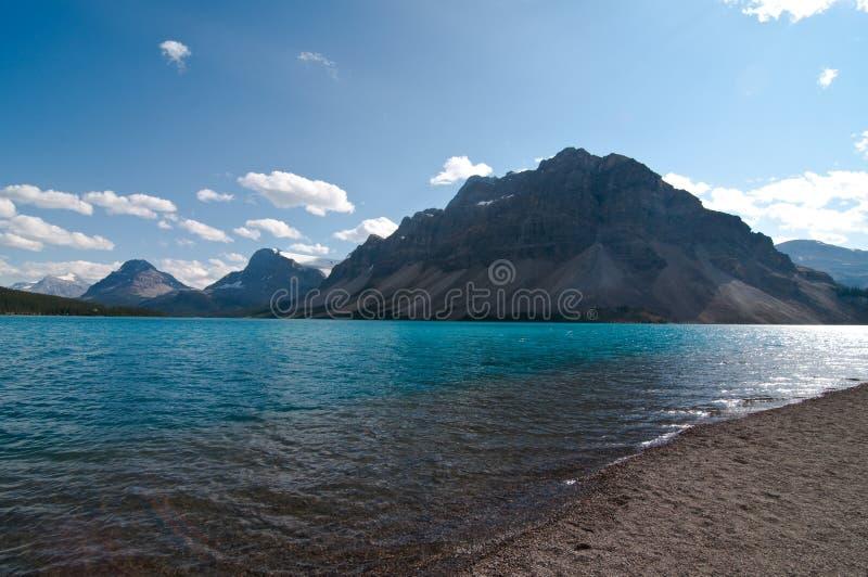 Lago Alberta Canada bow fotografía de archivo libre de regalías