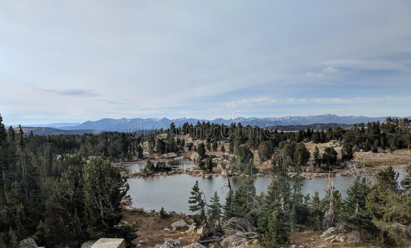 Lago alpino pass di Beartooth immagini stock libere da diritti