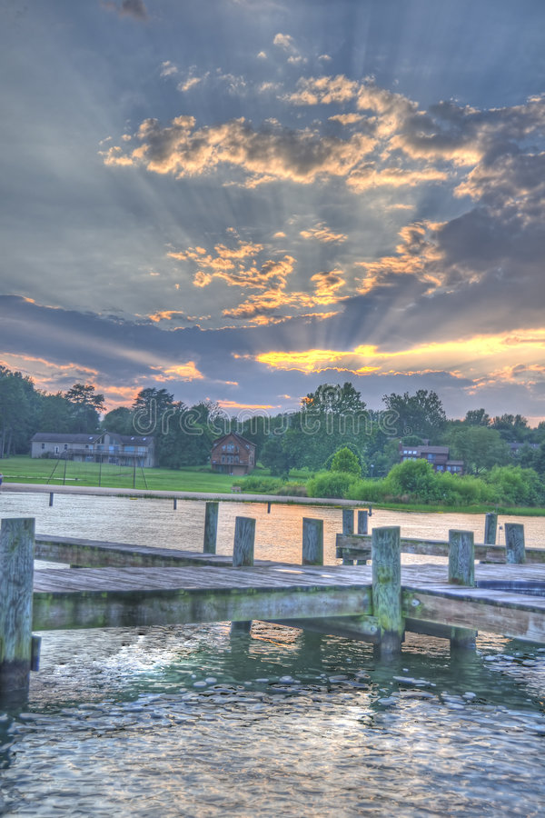 Lago Anna fotografia stock libera da diritti