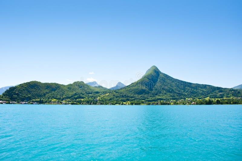 Lago Annecy imagem de stock