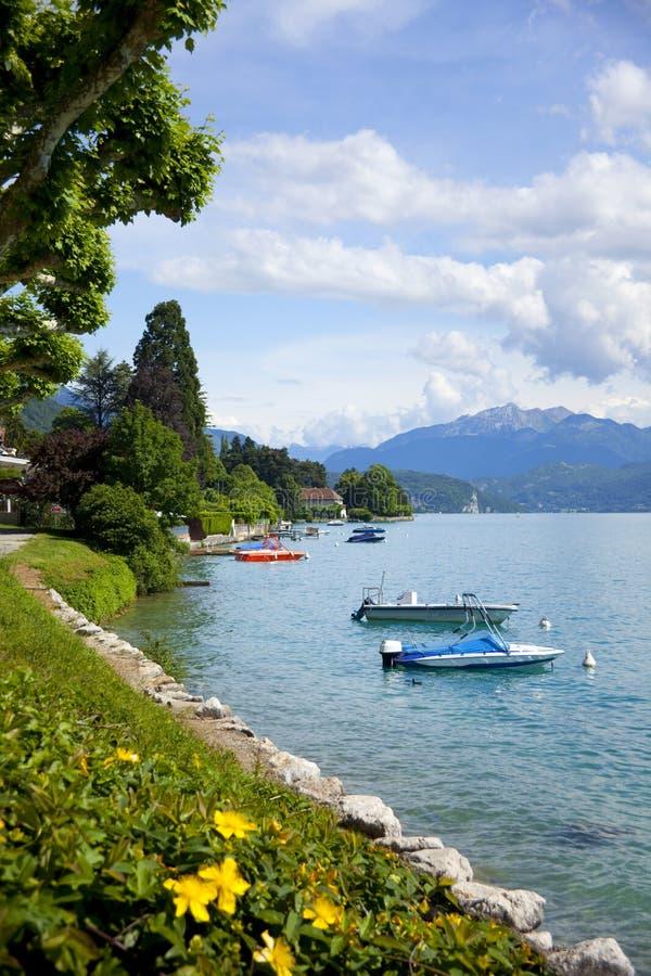 Lago Annecy imágenes de archivo libres de regalías