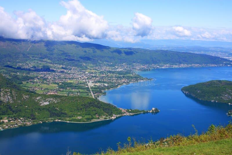 Lago Annecy fotografía de archivo
