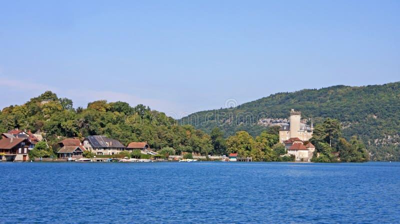 Lago Annecy, Francia immagine stock libera da diritti