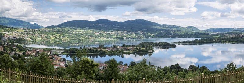 Lago Annone fotos de archivo libres de regalías