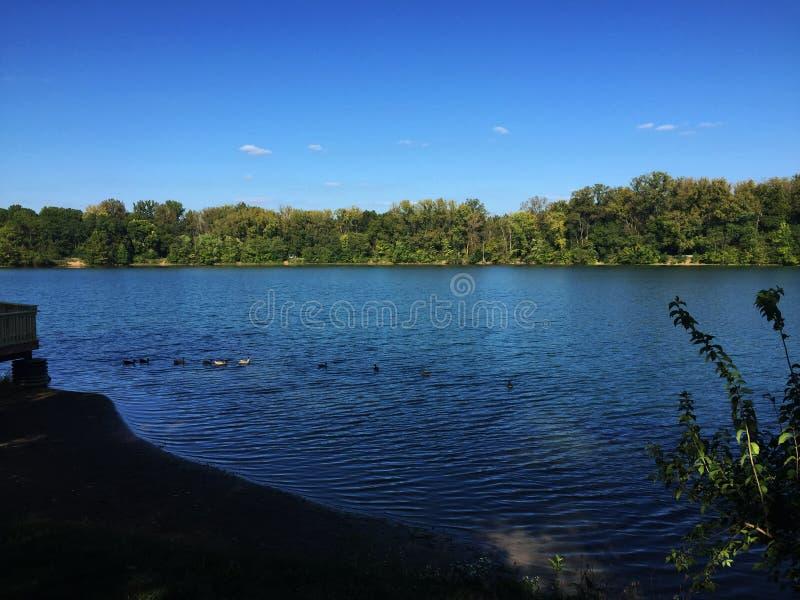 Lago antrim imagen de archivo libre de regalías