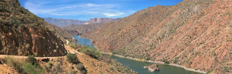 Lago apache   imagen de archivo libre de regalías