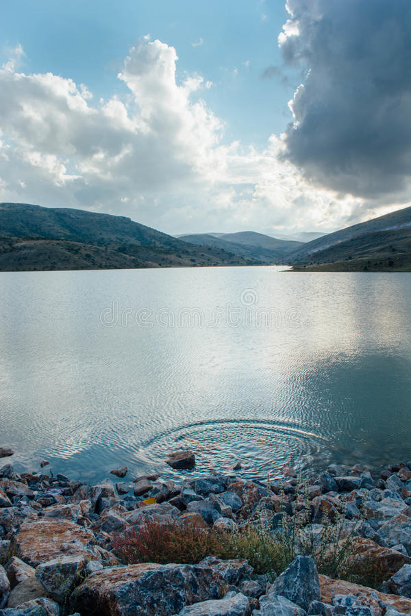 Lago Ardicli fotografia stock libera da diritti