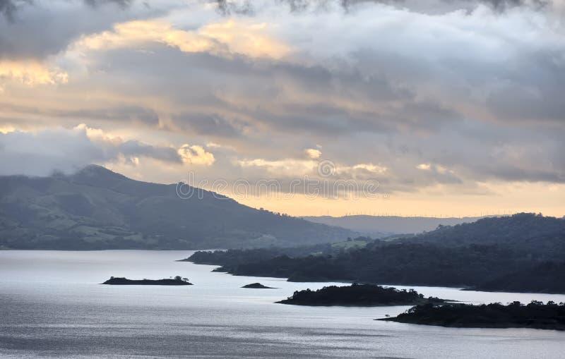 Lago Arenal fotografia stock libera da diritti