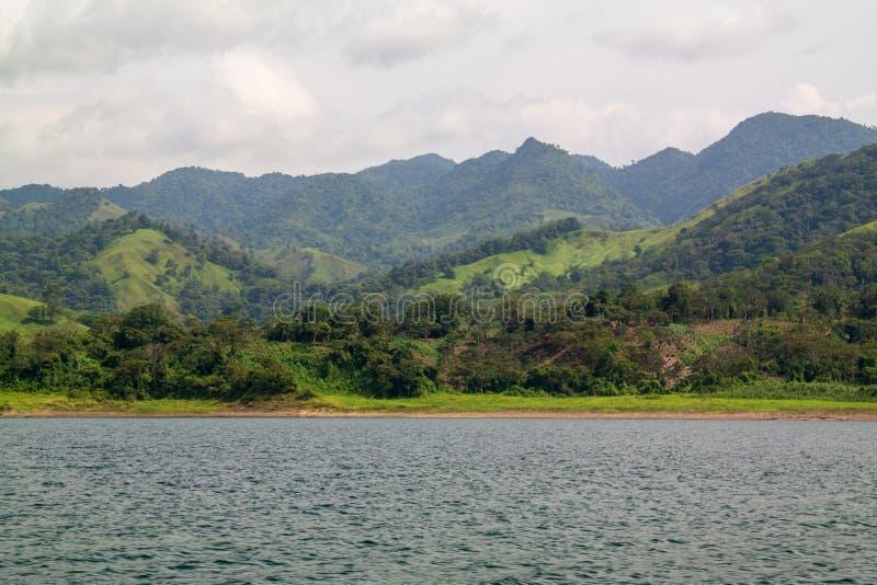 Lago Arenal Costa Rica immagini stock