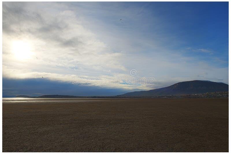 Lago Argentino - lago argentino - Calafate imágenes de archivo libres de regalías