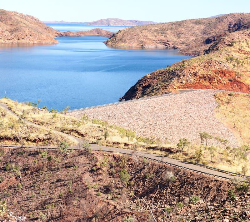 Lago Argyle Western Australia imagem de stock