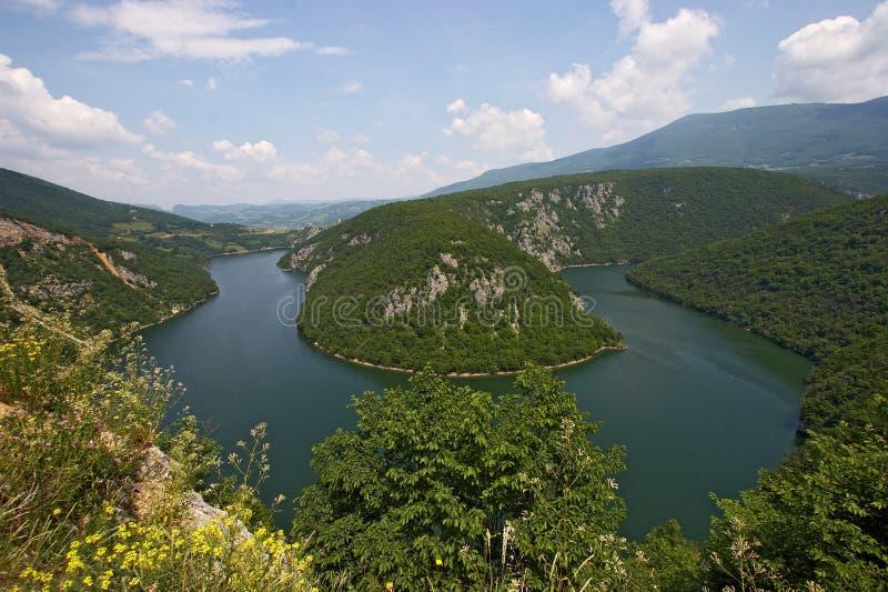 Lago artificial Bocac foto de stock royalty free
