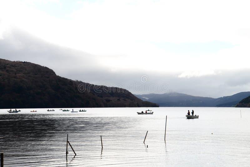 Lago Ashi fotografie stock