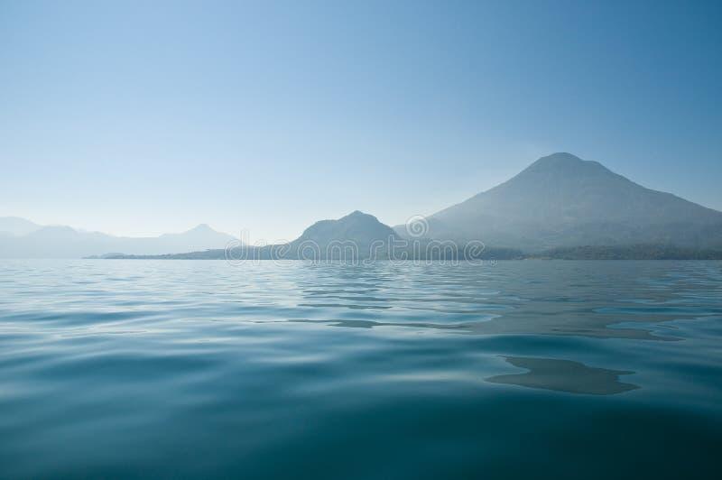 Lago Atitlan fotografie stock libere da diritti