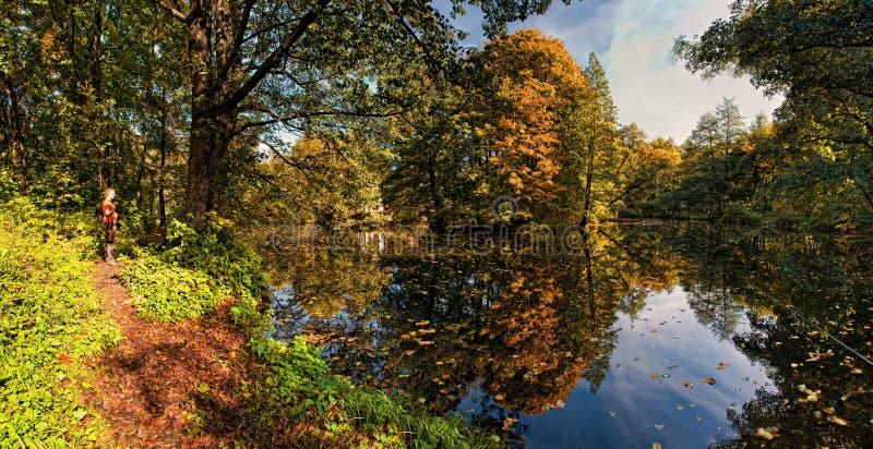 Lago autumn fotografia stock libera da diritti