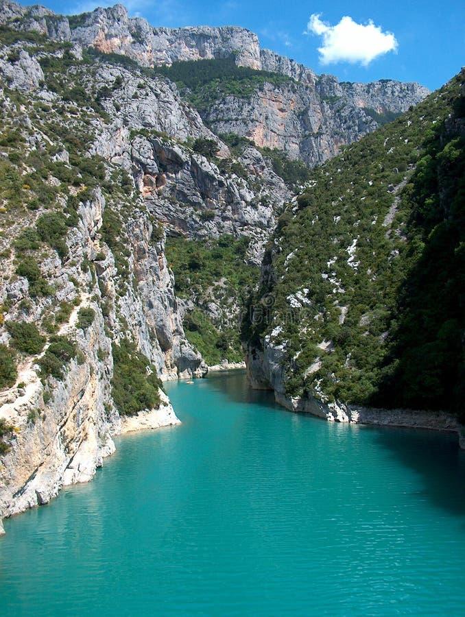 Lago azzurrato
