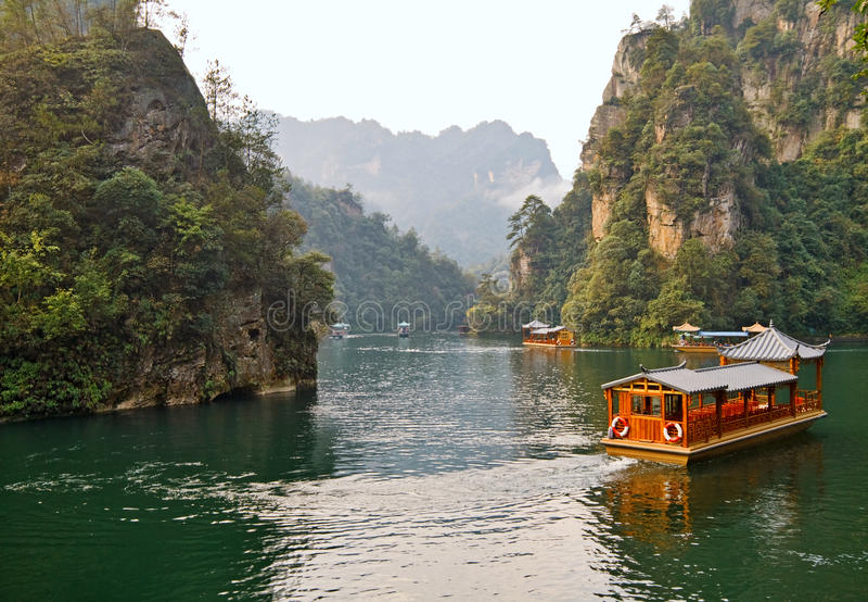 Lago Baefong foto de archivo