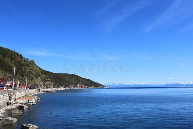 Lago Baikal foto de archivo