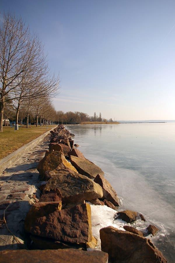 Lago Balaton immagine stock