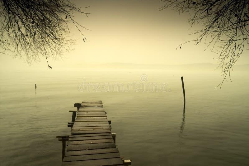 Lago Balaton fotos de stock