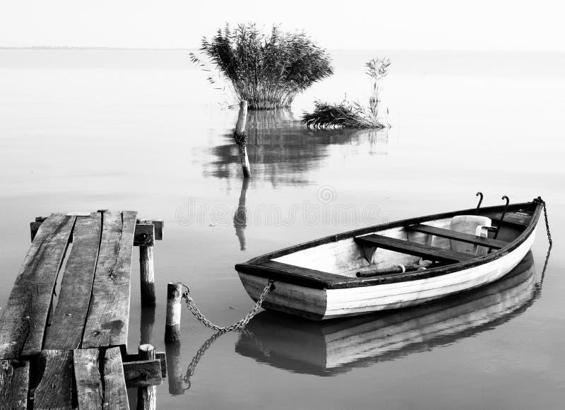 Lago Balaton (Szigliget) imagen de archivo libre de regalías